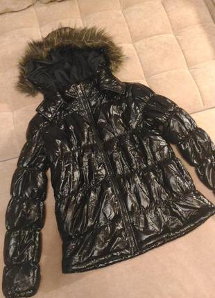 Куртка демисезонная, дутая, р.s