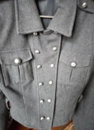 куртка-пиджак , шерсть, Италия