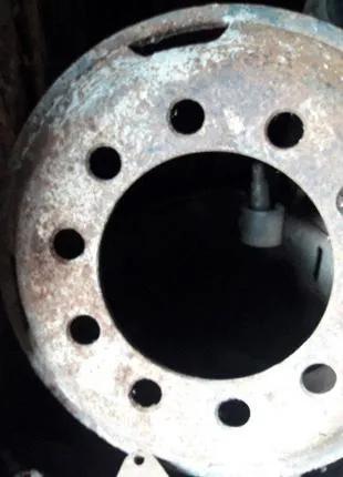 Диск колесный Краз  256Б1 - 3101012 в сборе с кольцами АвтоКраз