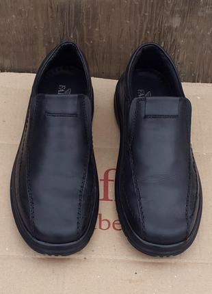 Кожаные туфли ботинки falcon 41 р.