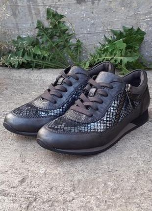 Кожаные кроссовки gabor 37 р. оригинал