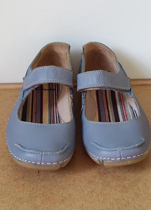 Кожаные балетки босоножки туфли clarks 37 р. оригинал