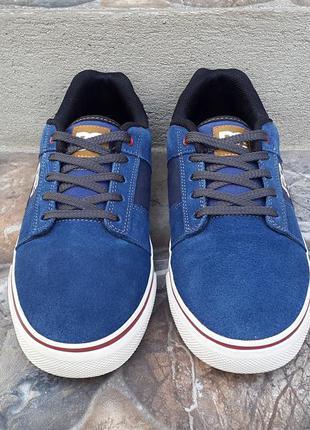 Кожаные кроссовки кеды ботинки dc 40 р. оригинал