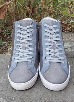 Кожаные кроссовки ботинки кеды nero giardini 41 р. оригинал ит...