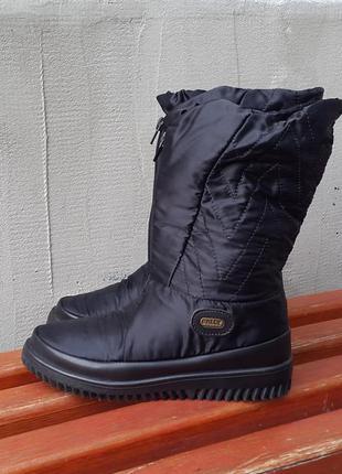 Зимние сапоги дутики ботинки bally 36 р. италия