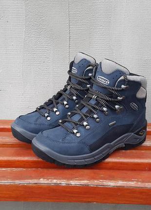 Кожаные трекинговые ботинки lowa renegade gtx mid hiking 38 р.
