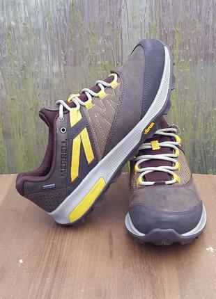 41, 44, 46 р. кожаные ботинки кроссовки merrell zion оригинал ...