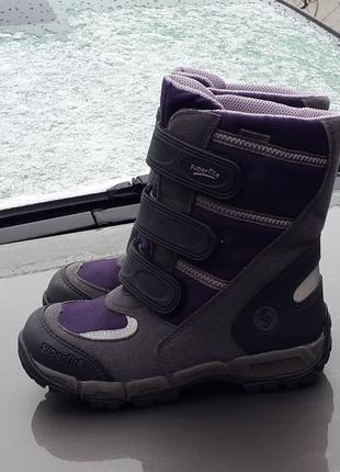 29 р. зимние ботинки superfit gore-tex оригинал