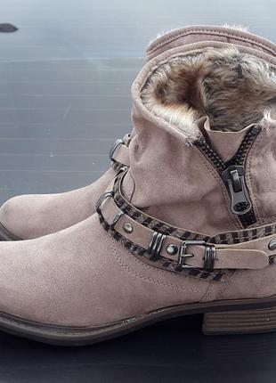 Демисезонные ботинки young spirit 39 р.