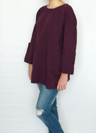 Блузон, блузка, кофта, zara, хлопок
