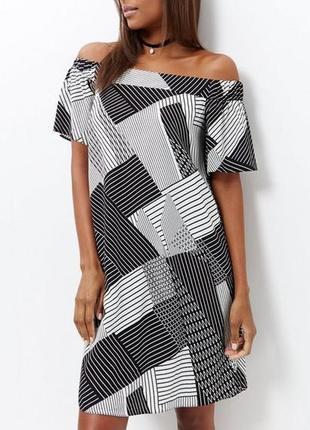 Доступно - красивое платье с открытыми плечами *new look* 16 р...