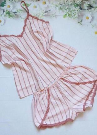 Комплект для дома и сна виктория сикрет victoria's secret пижама