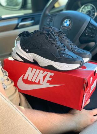 Nike black white, женские кроссовки найк, весна-лето-осень