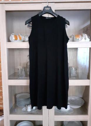 Милое вискозное платье большого размера
