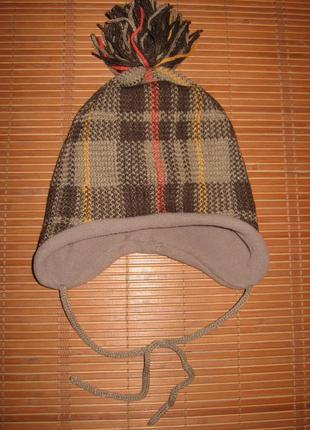 Новая с&a baby club (обхват 49 см) шапочка детская утепленная ...