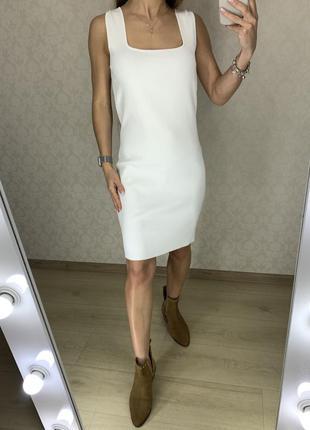 Плотное платье-майка zara