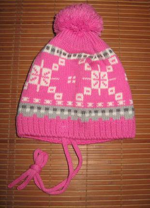 Новая с&a baby club (обхват 47 см) трикотажная шапочка детская...