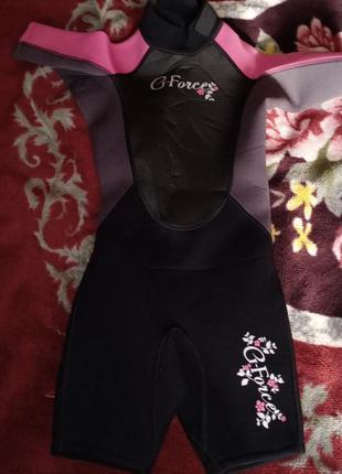 Детский гидрокостюм g-force, для девочки
