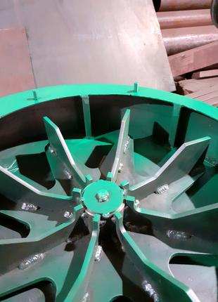 Зернодробилка роторная