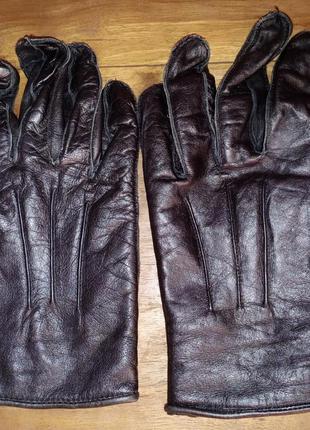 Кожаные перчатки weddington