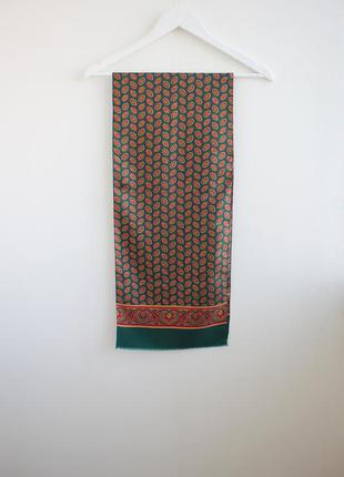Распродажа!!! шелковый шарф, шелк 100%