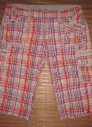 Edc by esprit (s/38) шорты женские натуральные