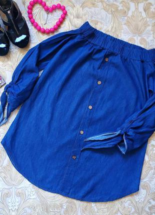 Шикарная блуза-туника. 12-14 р-р(46-48).