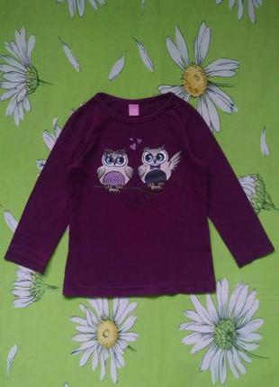 Гольф с совами  для девочки 3-4 года