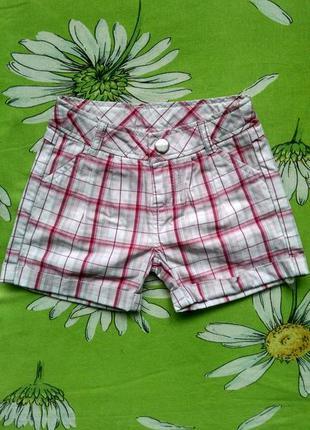Новые шорты для девочки 2-3 года