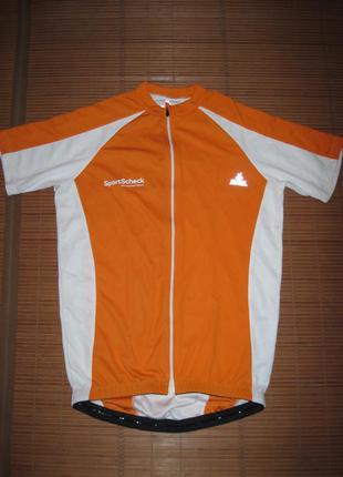 Велофутболка (s) джерси ock bike wear dynafunc