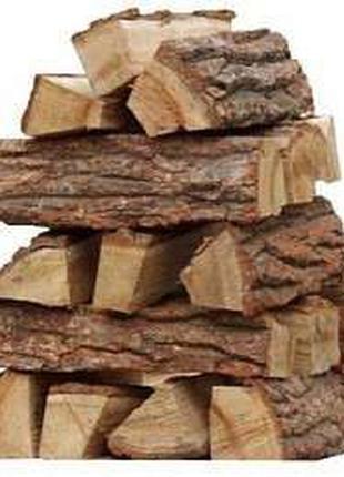 Дрова в Вышгороде по адекватной цене, колотые и в чурках 30-40 см