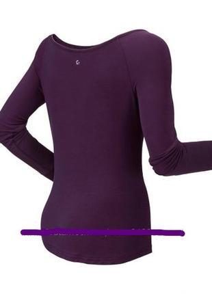Женский реглан для фитнеса, спортивная  футболка с длинным рук...