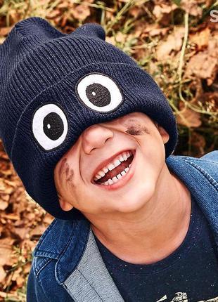 Теплая шапка с глазами tcm tchibo