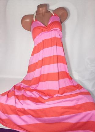 36/8/s new! h&m летнее классное натуральное платье