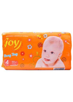 Подгузники памперсы Joy 3-56,4-50,5-44 шт.
