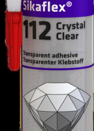 Sikaflex®'-112Crystal Clear прозорий універсальний клей-герметик,