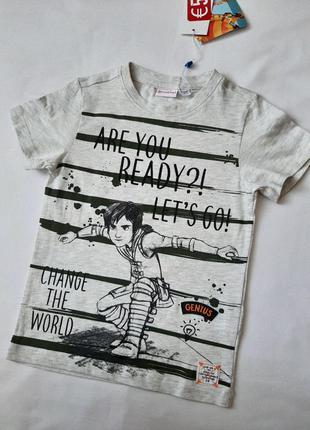футболка для мальчика 110\116 OVS
