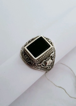 Серебряная печатка, серебро 925 проба