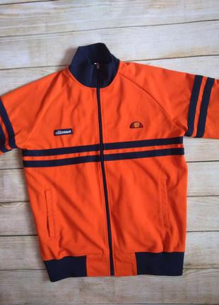 Кофта ellesse мастерка олимпийка еллис элис l оранжевая vintag...