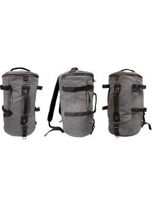 Дорожная спортивная сумка – рюкзак многофункциональная прочная...
