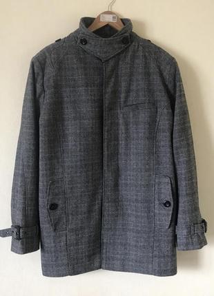 В наличии - деми-пальто *cedarwood state* р. xl - 52% шерсть!!