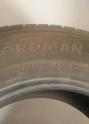 Шины Nokian Nordman SX 205/60 R15