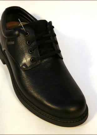 Clarks un tread lo gore-tex черные туфли ботинки оригинал