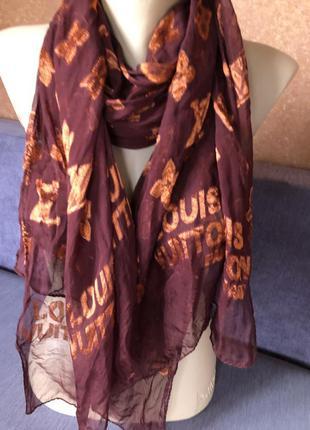 Шелковый шарф, шарфик