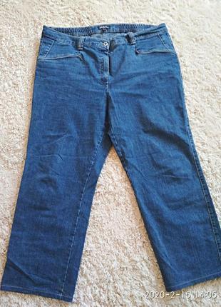 Отличные джинсы большого размера 22 uk, наш 56-58.
