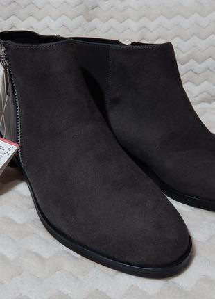 Полусапожки казаки чобітки ботинки stradivarius