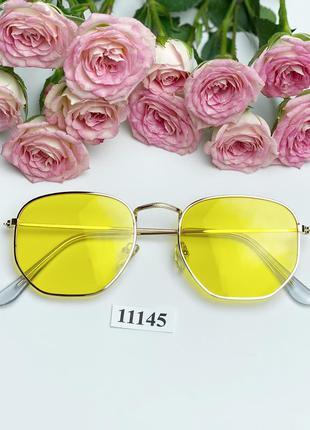 Солнцезащитные очки с желтыми линзами к.11145