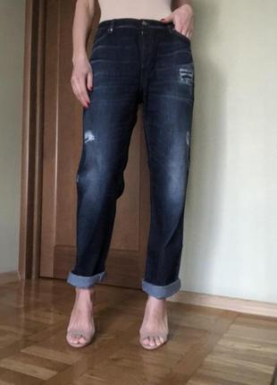 Новые джинсы с бирками бойфренд boyfriend armani jeans {оригин...