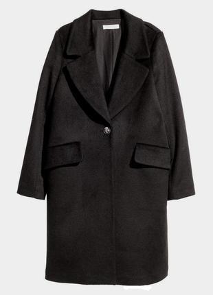 В наличии - деми-пальто миди *h&m* 12/42 р. - 52% шерсть!!