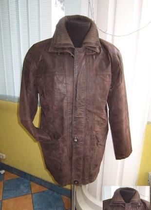 Большая кожаная мужская куртка. германия. лот 768